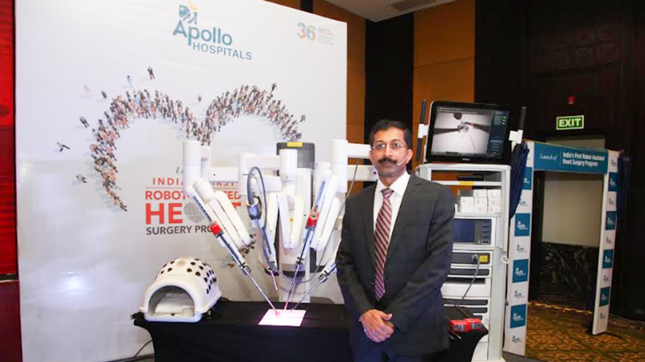 First Dedicated Robot Assisted Cardiac Surgery Unit In India Started By Apollo Hospitals