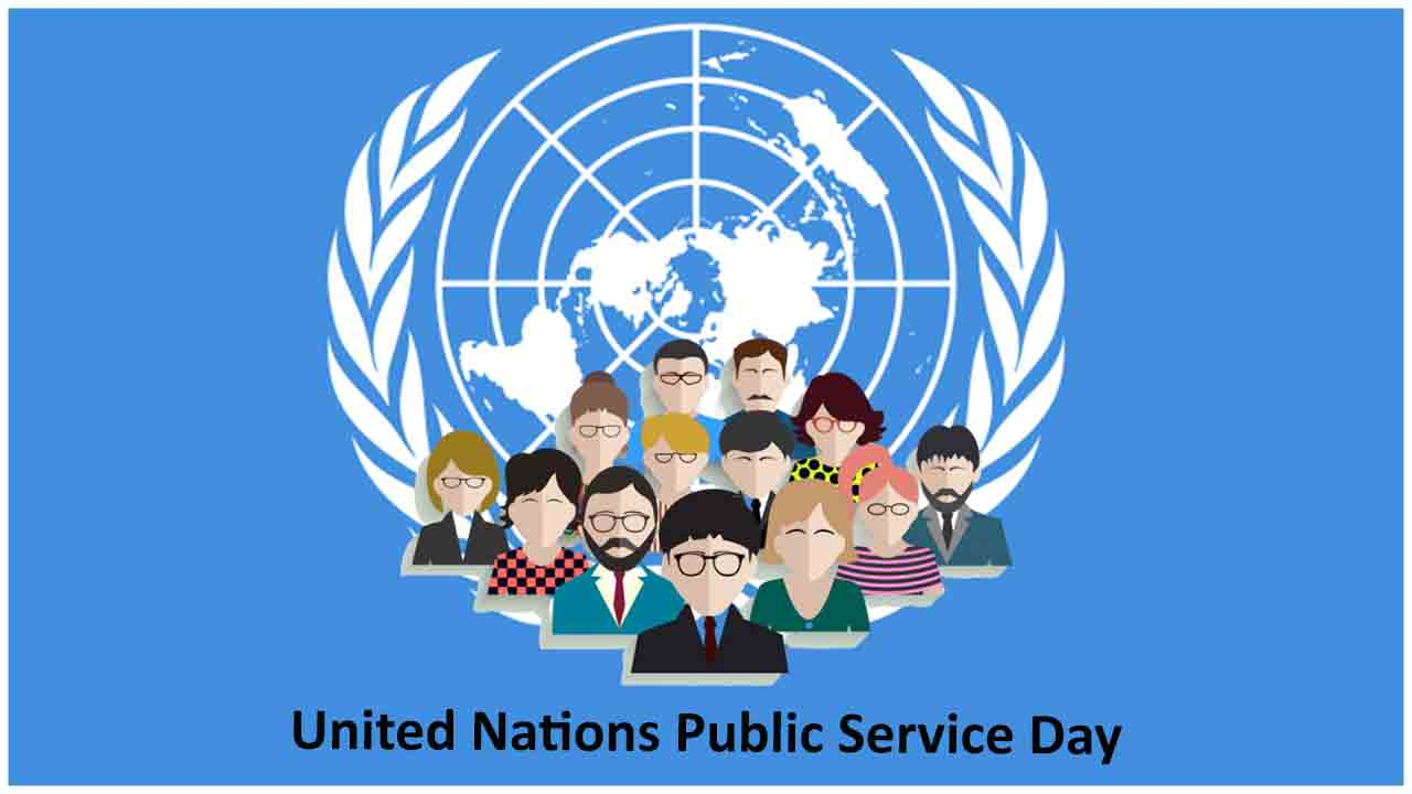 What Is United Nations Public Service Day 2020